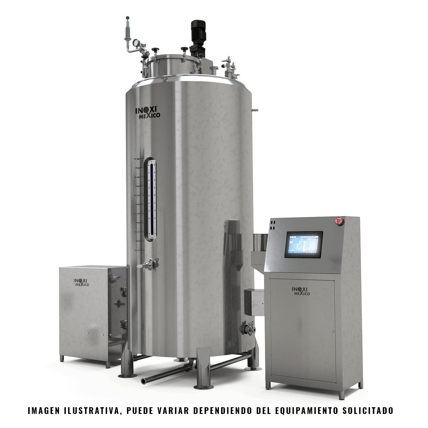 Biorreactor Enchaquetado de 800 Litros