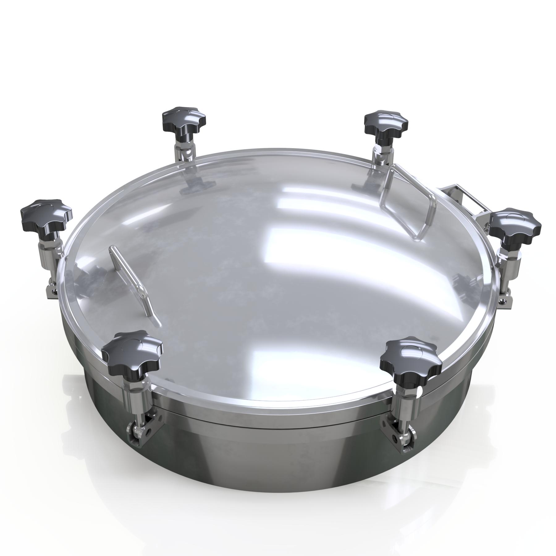 Compuerta Circular 350mm / Presión