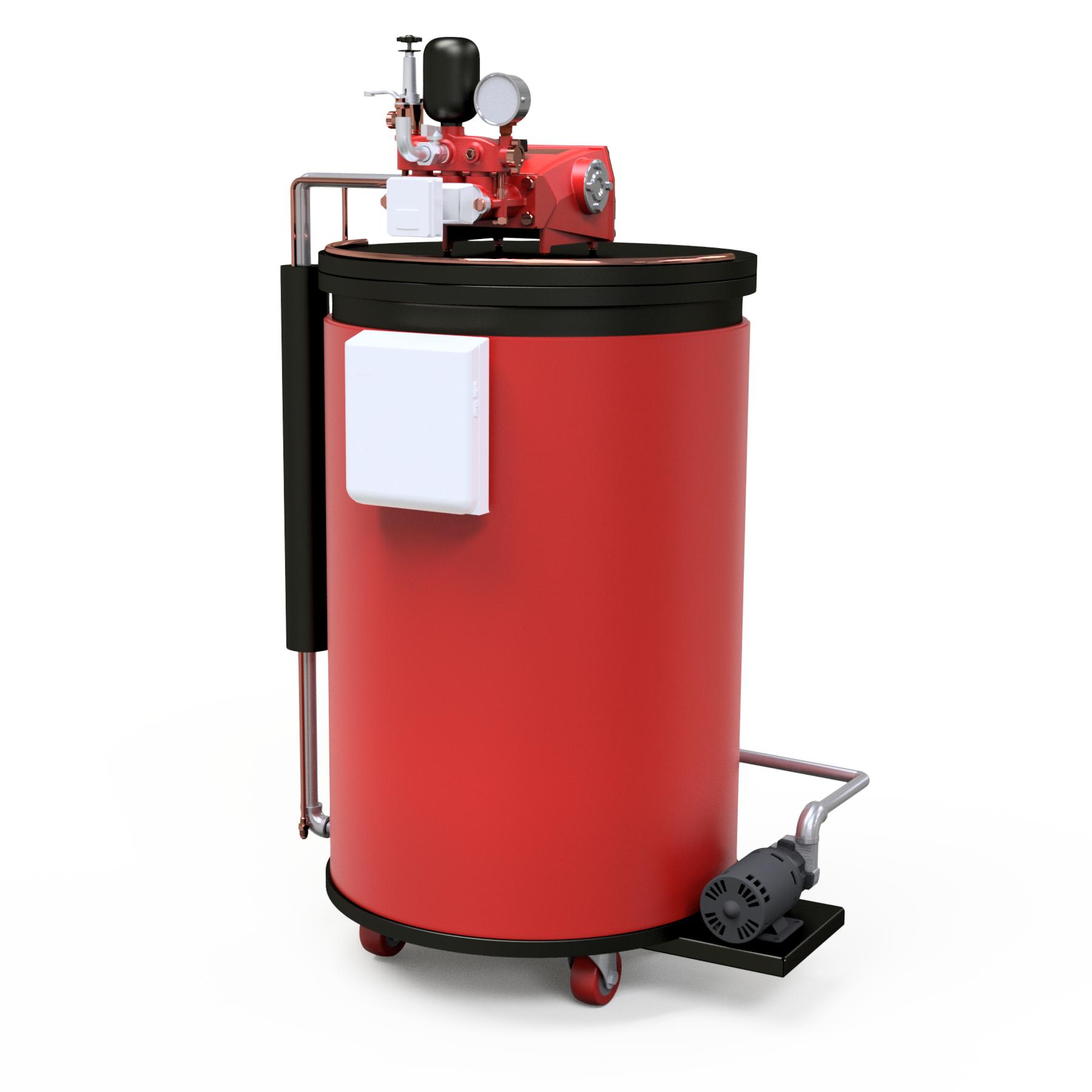 Caldera de Gas LP de 200 kg/hr de Vapor