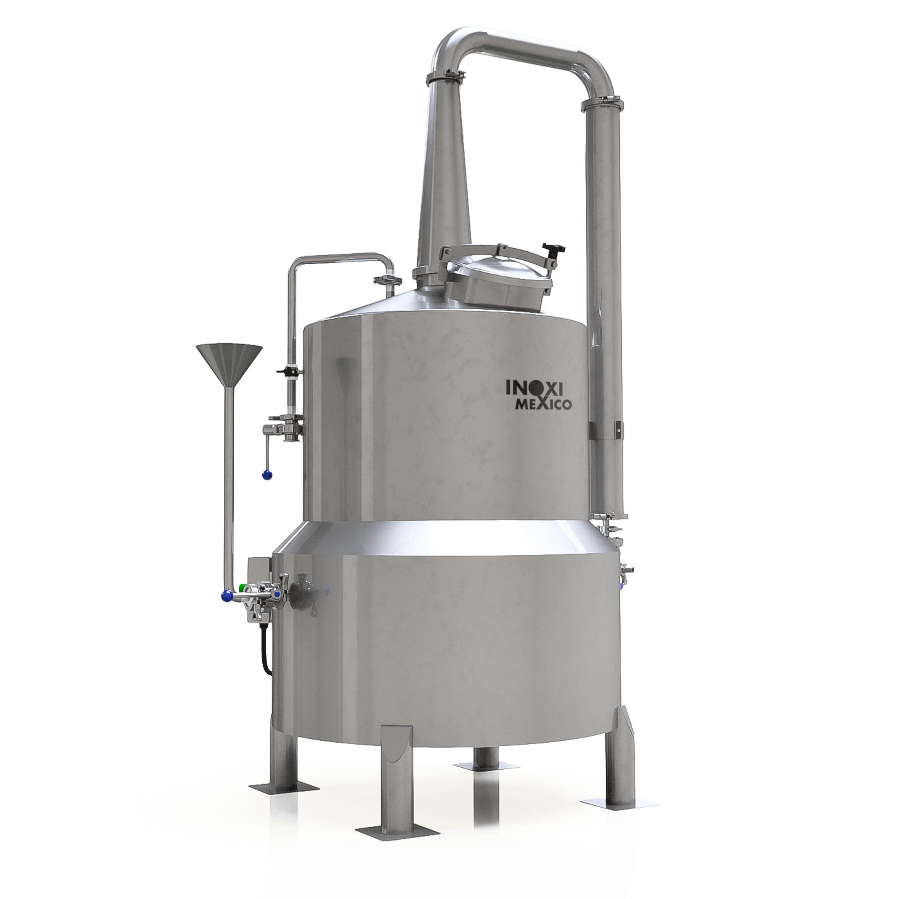 Destilador Alcoholes de 800 Litros