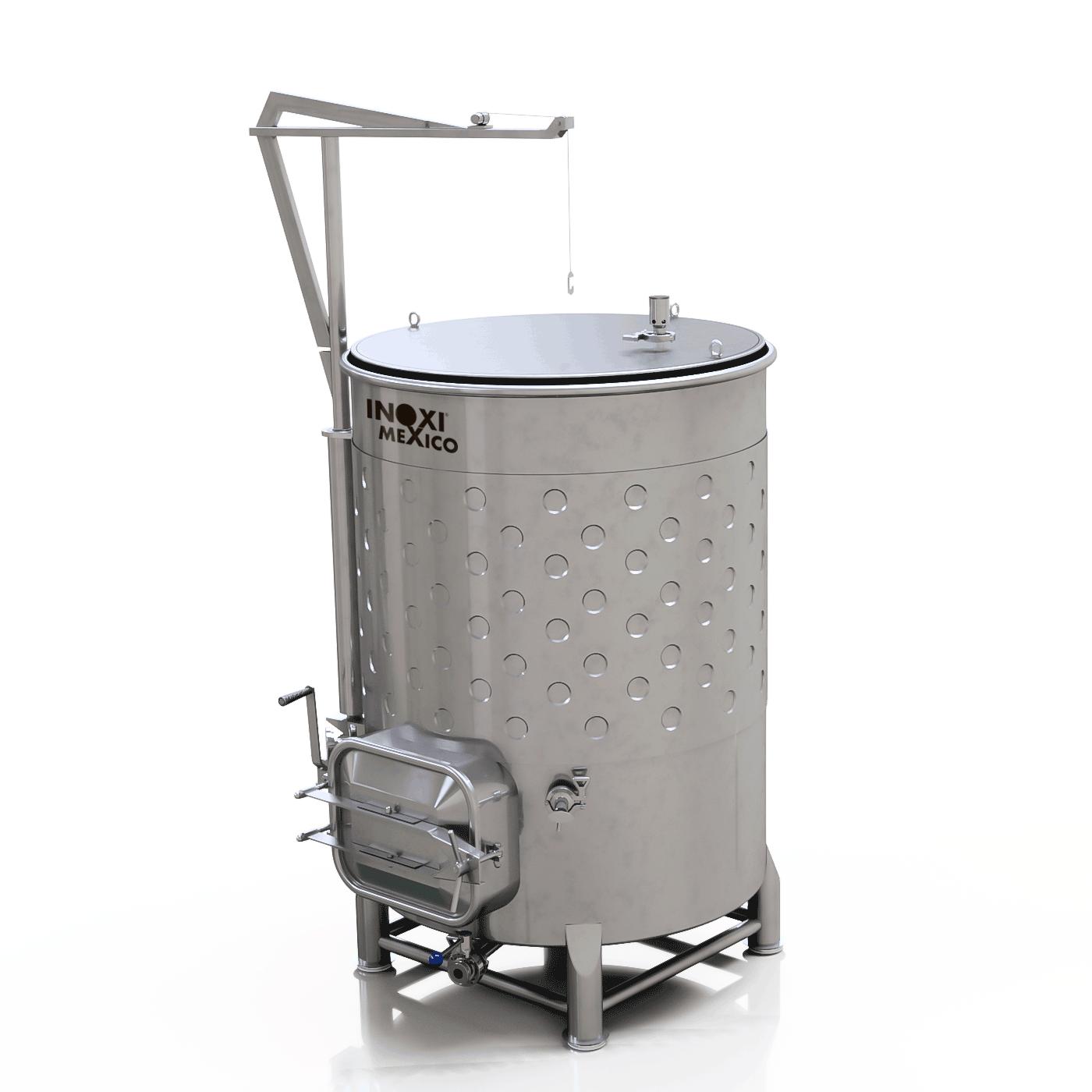 Fermentador Variable para Vino Blanco/Vino Tinto/Sidra 1500L